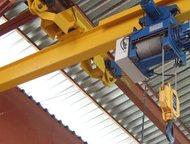 Краны разных типов, с оптового склада Краны однобалочные подвесные однопролетные  Подвесная электрическая кран-балка, она же - кран мостовой (подвесн, Альметьевск - Строительство и ремонт - разное