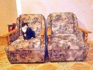 продам 2 кресла Продам 2 кресла б/у в хорошем состоянии в виду отъезда., Ангарск - Столы, кресла, стулья