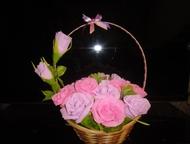 Букет из конфет Букет из конфет, из 17 роз. Конфеты Бутон с суфле и молочной начинкой, производитель: АОАккон Россия. Можно на заказ в течении дву, Арзамас - Хобби и увлечения - разное