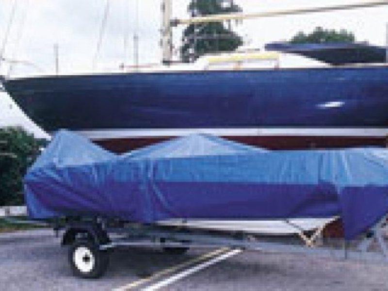 тент из полипропилена для лодки