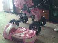 Екатеринбург: Коляска-вездеход для вашей принцессы Продам коляску-трансформер, пользовались год, все механизмы работают, новый дождевик, новая москитка, столик для