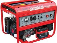 Сварочный генератор в аренду в Гатчине Аренда: Сварочный генератор FUBAG WS 230DC ES дуговая сварка ММА Диам. электродов 1, 6-4; свар. Ток50-230А; 2 р, Гатчина - Мобильная электростанция (генератор)