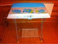 Продам пеленальный столик с ванночкой Seca baby bath Продам пеленальный столик с ванночкой Seca baby bath, ванна с переливом, стол складной, б/у, От, Ижевск - Мебель для ванной