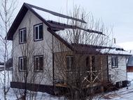 Продам дом Продаётся дом на 6 сотках на СНТ Мир, за Хохряками. Площадь 98 кв. м, 2 этажа, электричество, вода, выгребная яма. Дом очень тёплый. Работы, Ижевск - Купить дом