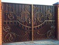 Казань: Кованые ворота Изготовление и установка кованых ворот. Большой выбор готовых решений. Услуги дизайнера по созданию индивидуального проекта.