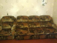 Продам диван и 2 кресла Диван и кресло в хорошем состояние диван раскладной, звоните в любое время, Кемерово - Мягкая мебель