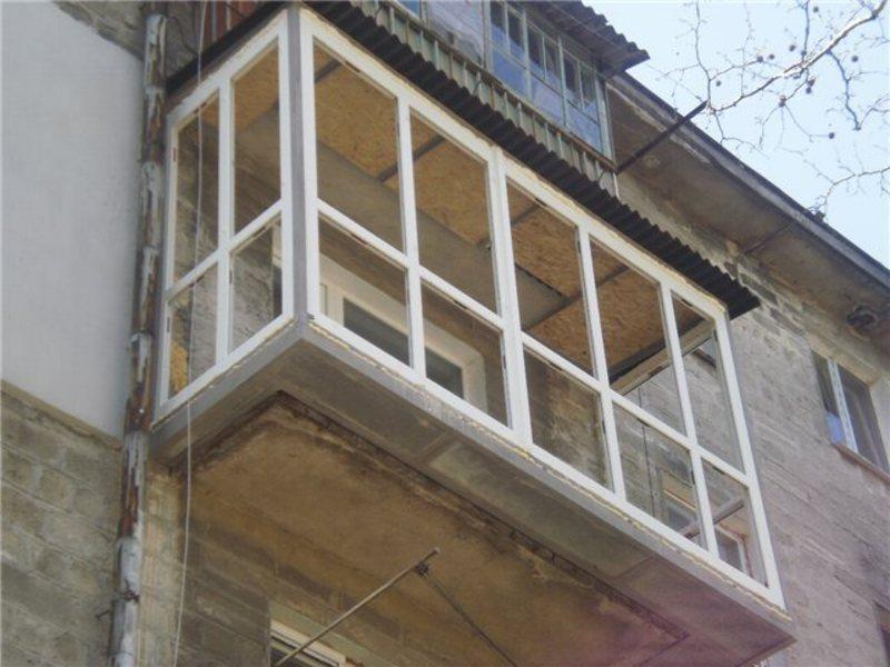 Выполним работы по расширению балконов, лоджий, в краснодаре.