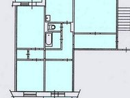 4 комнатная в Солнечном Просторная квартира, водосчетчики, окно ПВХ только на кухне, огромный простор для фантазии, когда по своему вкусу и запросам б, Красноярск - Продажа квартир