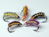 Рыболовные мушки на хариуса Плетеные Мушки Плетёные. Различные цветовые гаммы. Подходят для рыбалки на хариуса, ленка, тайменя и другой рыбы на река, Красноярск - Рыбалка