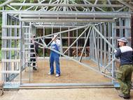 Челябинск: Быстровозводимые дома (Каркасные дома) Строительство каркасных зданий в Челябинске.   Заказать быстровозводимый дом в Копейске. Строительство Бани. Эт