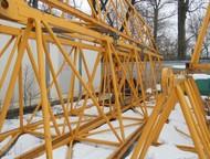 Санкт-Петербург: Продается Башенный кран Liebherr 110-EC-B6/100LC Башенный кран Liebherr 110-EC-B6/100LC  Год выпуска — 2007  Грузоподъемность — 6 т/1, 5 т  Высота кра