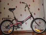 Ленинск-Кузнецкий: велосипед Stels Продам велосипед в отличном состояние, легко складывается.