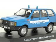 полицейские машины мира спец, выпуск №2 Rayton fissore magnum 2, 5 TDI 1997,полиция Италии цвет:синий, масштаб:1:43, сделан из металла и пластика, мод, Липецк - Коллекционирование