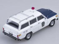 Липецк: полицейские машины мира №39 Jeep wagoneer полиция штата Пенсильвания цвет:бело-синий, масштаб:1:43, сделан из металла и пластика, модель в блистере, ж