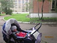 Коляска Стек Продам коляску большую прогулочную с сумкой и переноской в хорошем состоянии, сиреневого цвета за 3200. Возможен торг., Магнитогорск - Детские коляски