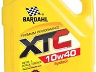 Синтетическое масло BARDAHL XTC 10w40 (5л) Бельгия Уникальное европейское масло BARDAHL, протестированное Давидычем в обзоре Технарь2 на YouTube. Выде, Москва - Авто - разное