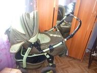 Набережные Челны: Продам б/у коляску, не дорого Коляска б/у зелёного цвета, зима-лето. торг