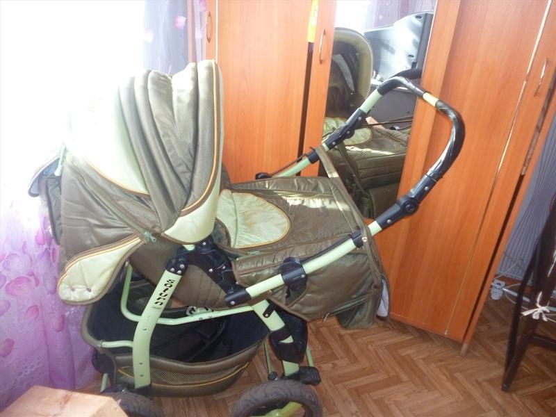 Happi baby 3х колесная коляска в городе набережные челны, фото 1, детские коляски
