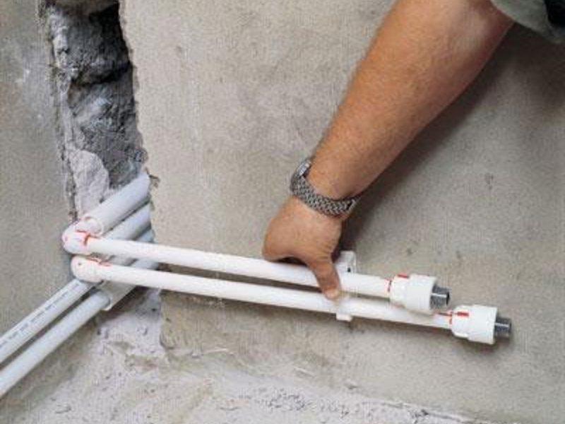 Пластиковые трубы для квартиры своими руками 666