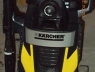 Керхер К 5, 675 Высоконапорный моющий аппарат:Рабочее давление 12, 5 МПа, Максимальная подача воды -7, 7 л/мин. , давление напора - 0, 8 МПа. Приобрет, Нижний Тагил - Автомойки высокого давления