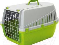 Переноска Trotter 1 Savic Переноска Trotter 1, зеленый лимон, 49х33х30 см., Нижний Тагил - Домашние животные - разное