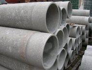 Труба хризотилцементная 400 вт-6 Напорная труба используется при прокладке напорных сетей питьевой и технической воды, для канализации., Новосибирск - Строительные материалы