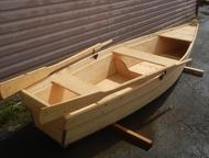 Нижний Тагил: Лодка деревянная Продам лодку новую деревянную на весельном ходу, цвет Сосна, обработана защитным составом от гнили , плесени, уф-лучей, швы промаза
