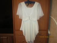 Продам не дорого Платье нарядное, молочного цвета, в отличном состоянии, на девочку 9-12 лет., Салехард - Детская одежда