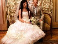 Продам свадебное платье Продается свадебное платье в отличном состоянии, одевалось один раз, покупалось в магазине новое. В подарок отдам фату и крино, Санкт-Петербург - Свадебные платья