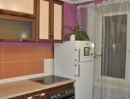 Сдается однокомнатная квартира по адресу Семена Ремезова 30 Сдам 1-комнатную меблированную кв. на 4 этаже кирпичного 5-эт. дома. Плита электрическая, , Тобольск - Снять жилье