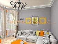 Тольятти: дизайн интерьера Дизайн интерьера от Бюро дизайна «…Только счастье…» : до проектная подготовка (выбор стиля, цвета, форм ), дизайн помещений (визуализ