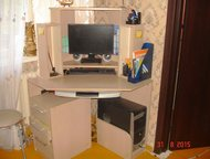 Тольятти: Комплект из 4-х предметов Продаётся 2-шкафа (цвет орех, высота 2, 20см, ширина 0, 40см)   Тумба раскладная (высота 1, 46см, ширина 1, 12см, глубина 0,