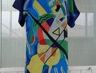 Туники из натурального шёлка Изготавливаем туники из натурального (100%-го) шёлка высшей категории, эксклюзивных расцветок с неординарными принтами.  , Тула - Женская одежда