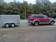 Ульяновск: Прицеп двухосный, кузов 2,45 х 1,23 Самый маленький двухосный прицеп для управления которым достаточно иметь категорию В. Размеры кузова 2, 45м х 1,
