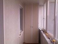 Ульяновск: Обшивка балконов и лоджий Обшивка балконов и лоджий Евро вагонкой, панелями ПВХ, МДФ, Блок-хаус. Электрика. Шкафы любой сложности,